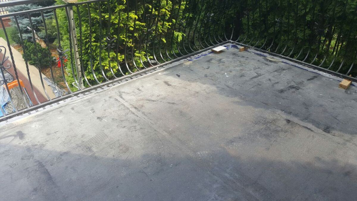 Beton na balkon